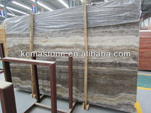 Grey Marble Slab Silver Travertine