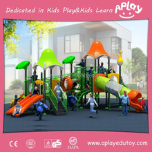 Lovely and interesting commercial kids playground equipment with child jungle play gym used in grassland and sand AP-OP10811