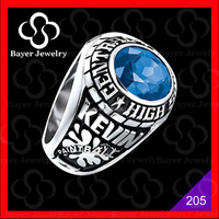 wholesale high quality keystone custom class rings