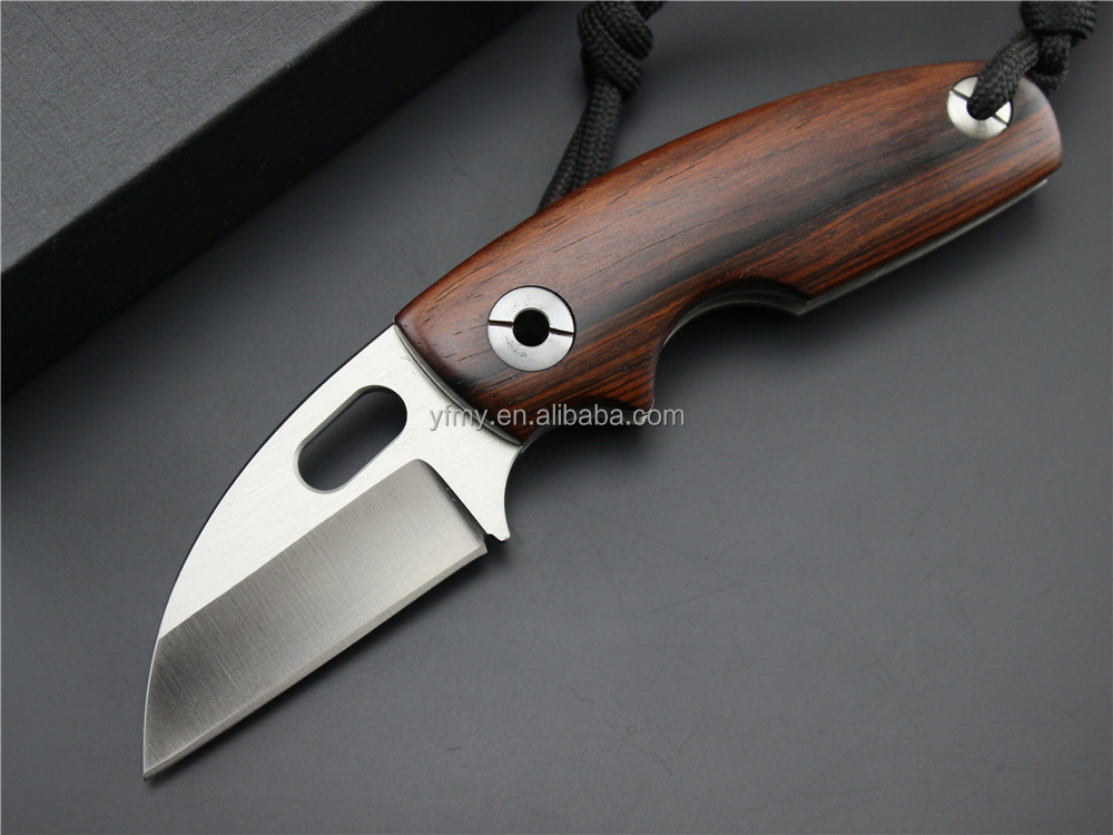 OEM Small SIZE 9CR14MOV Blade Cocobolo Handle Folding Pocket <strong>knife</strong> Outdoor Gear Tools Gift <strong>Knives</strong>