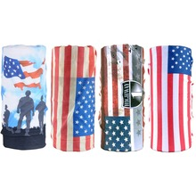 wholesale custom tube country flag multi bandana
