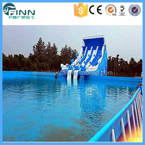 Leisure Center Steel Frame Kids Piscine PVC Swimming Pool