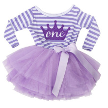 Pabasana crown and letter design <strong>girls</strong> tutu dance 1st birthday <strong>dress</strong> for 1-3 years with quality warranty