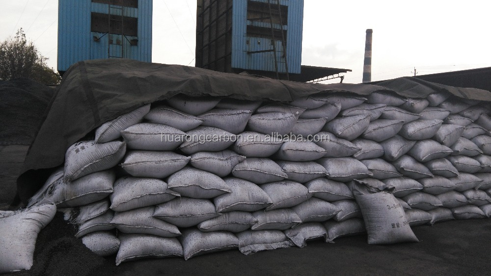 low sulphur steel making gas calcined anthracite coal (GCA 95)