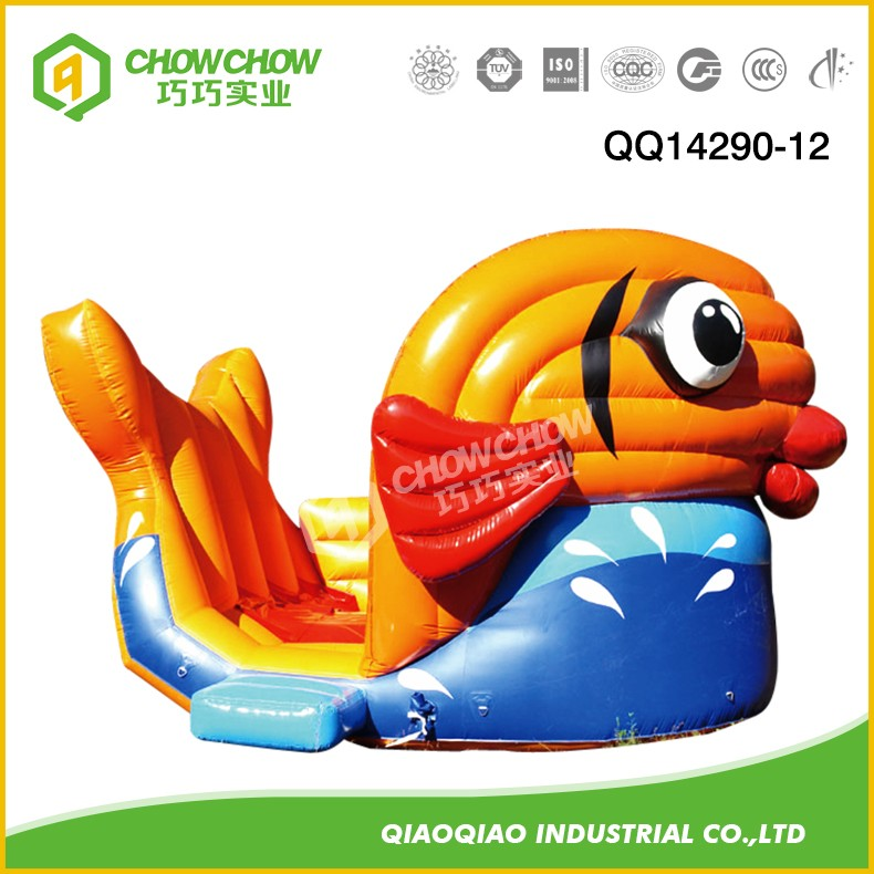 QIAOQIAO Inflatable Slide and Jumping Products are Popular by Kids and Adult