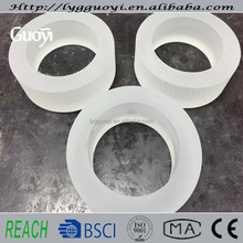 milky quartz insulating tube flange