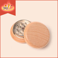 JL-157J Yiwu Jiju Distributors 55MM Wood Weed Grinder With Zinc Teeth