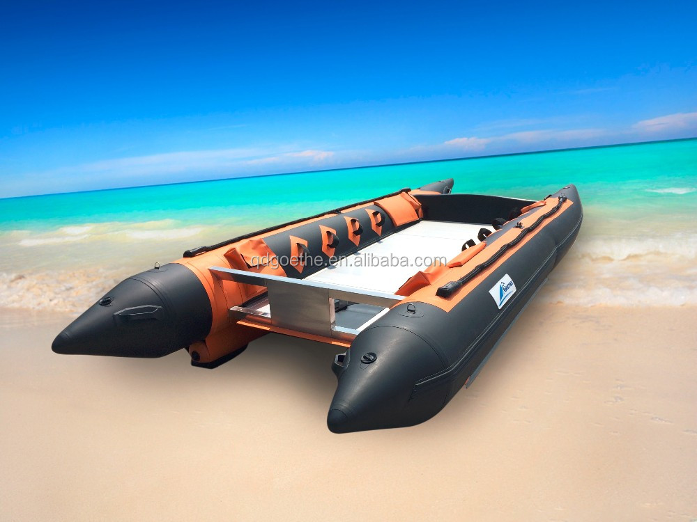 GTG480 Goethe Aluminum Floor Inflatable Boat Made in China