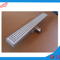 water well filter/flat wedge wire screen /rectangular stainless steel linear shower water floor drain