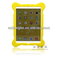 Shenzhen manufactory, silicone kids rubber case bag for ipad air