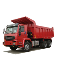Sinotruk HOWO 6X4 30ton Hydraulic Cylinder Tipper Trucks For Sale to Transport Sand