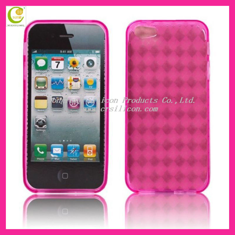 Girls favarite transparent S type tpu skin case for iphone5,OEM/ODM design is welcome