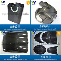 Carbon Fiber Motorcycle Parts, Carbon Fiber Front Fairing