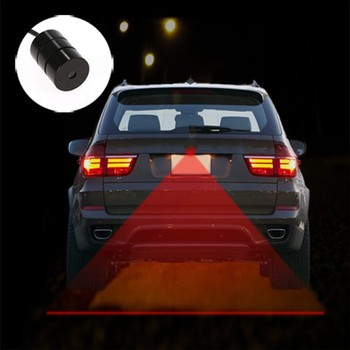 New Car Alarm Taillight Brake Warning Car Laser Fog Light SV023042