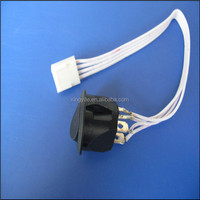 250 light with switch flat ribbon cable assembly