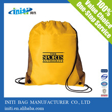 2016 China wholesale polyester school backpack for sport