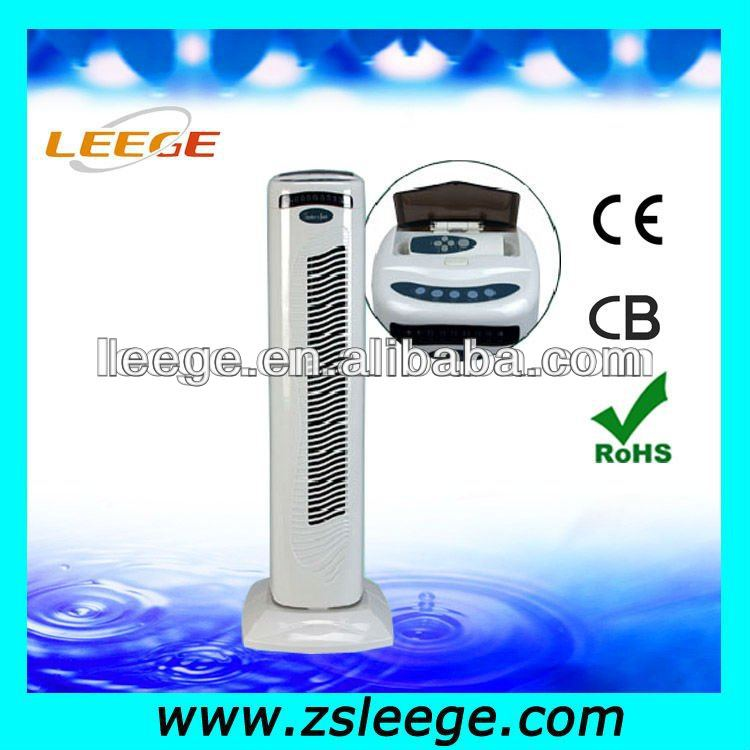 "29"" oscillating tower fan with remote"