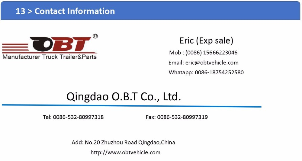 Chinese heavy duty bolt-in king pin 50 tons side tipping truck trailer for sale