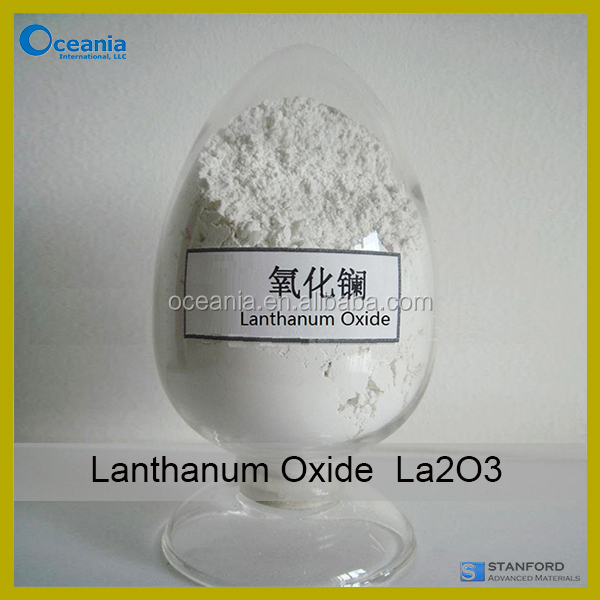99.95% Lanthanum Oxide Powder Rare Earth Oxide La2O3