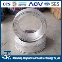 China manufacturer made anodized zinc ribbon alloy anode