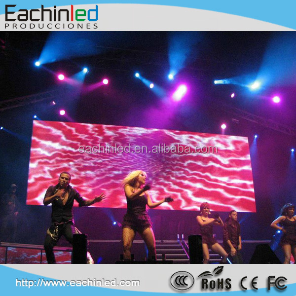 video wall P3 indoor rental led display DJ stage background
