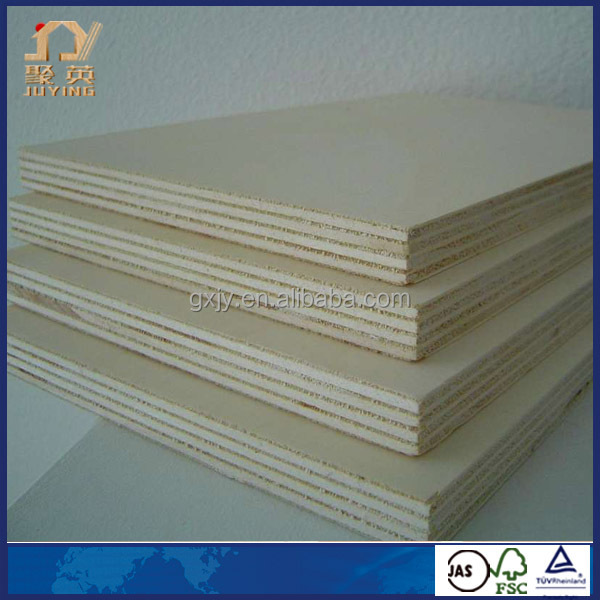 E0 standar 6mm birch plywood for furniture