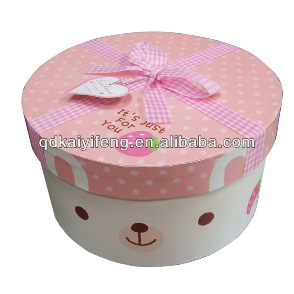 Gift Packaging Box; Hat Box Wholesale Round Hat Box