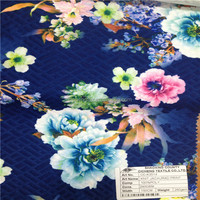 Shaoxing cicheng make-to-order 4 way stretch nylon lycra printed knitting fabric for swimwear underwear garments