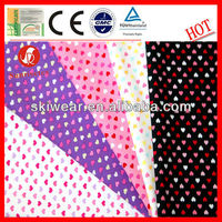 Anti Mosquito Polyester Heart Print Fabric