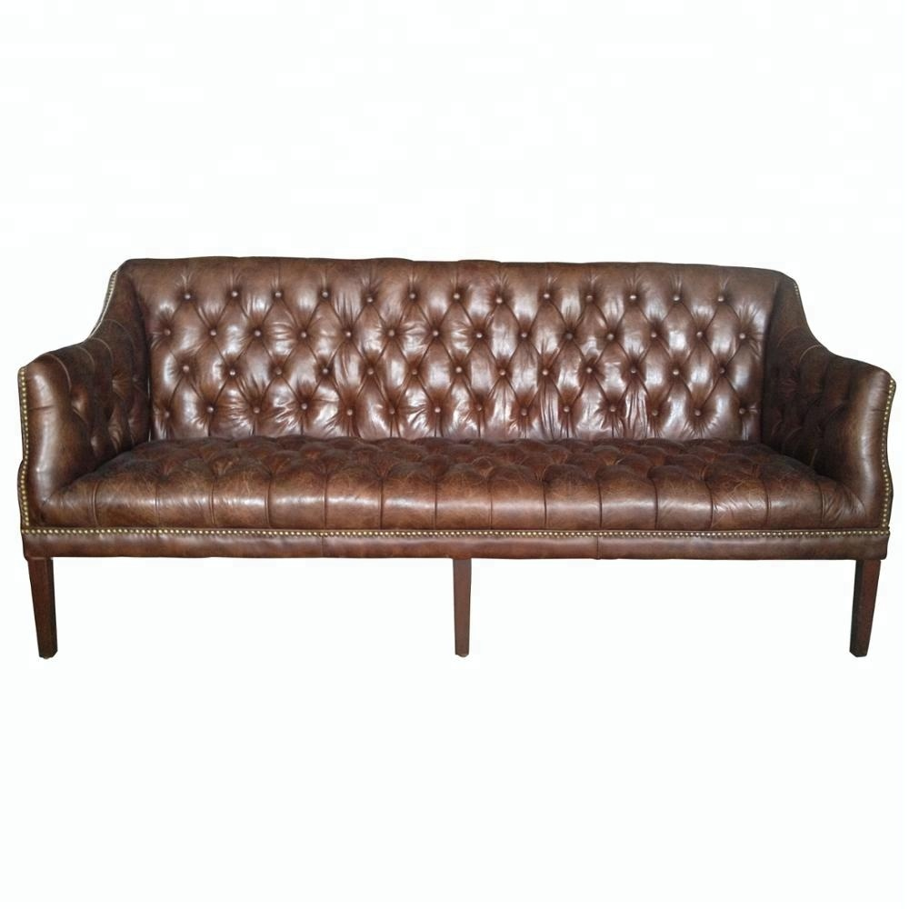 Antique Queen Anne Leather Tufted Sofa - Buy Leather Tufted Sofa,Antique  Tufted Sofa,Antique Leather Tufted Sofa Product on Alibaba.com