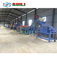 PE PP PET PVC EPE Plastic bottle recycling washing machinery line price