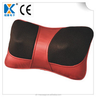 Electric Shiatsu Kneading Cushion Pillow Infrared Massager for Car &Home Use RED