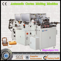 SHB Full automatic fried chicken box forming machine with high quality