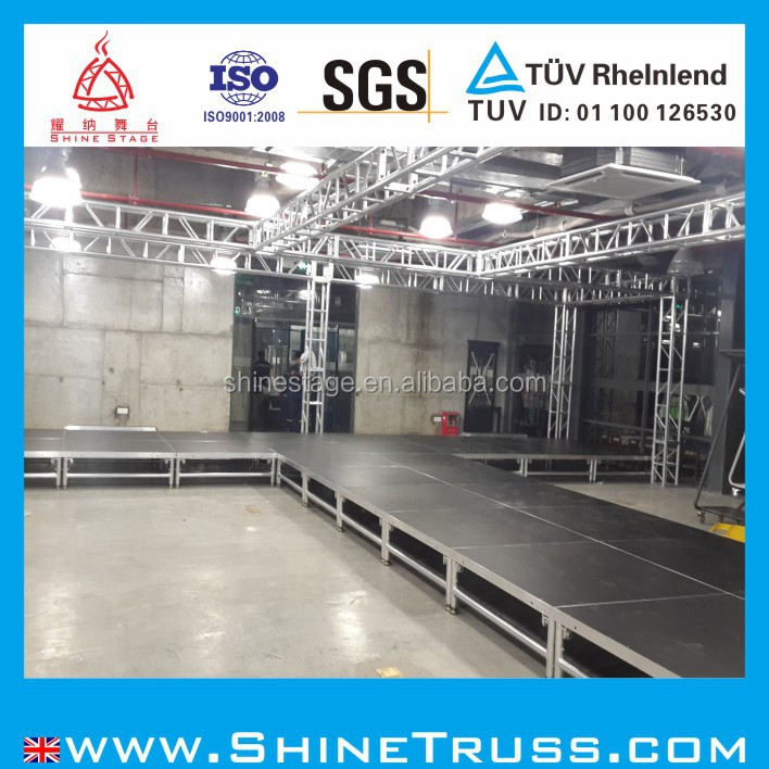 hot products aluminium foldable stage