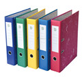 Fashion Durable design Color Paper LAF with PVC spine