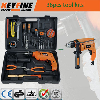 36PCS hot selling combination Tool kits with cheaper drill machine