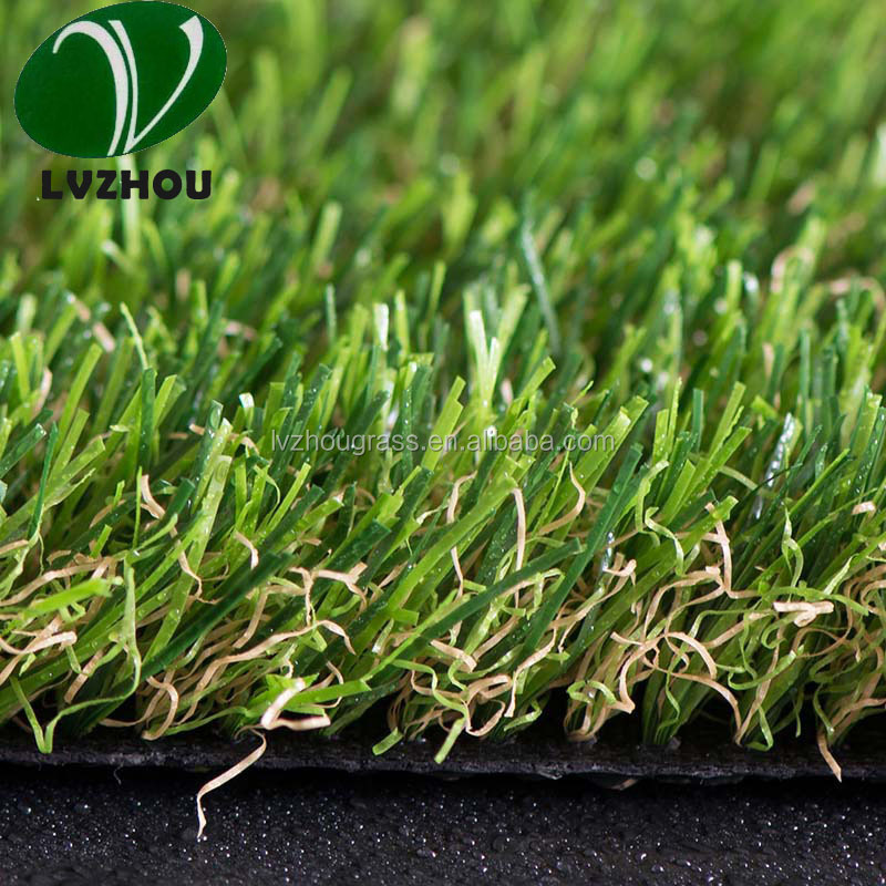 natural grass turf for landscape grass LQ40-40-168 spring 40mm