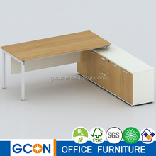 LIGHT series office supervisor desk with pedestal LT-1608C