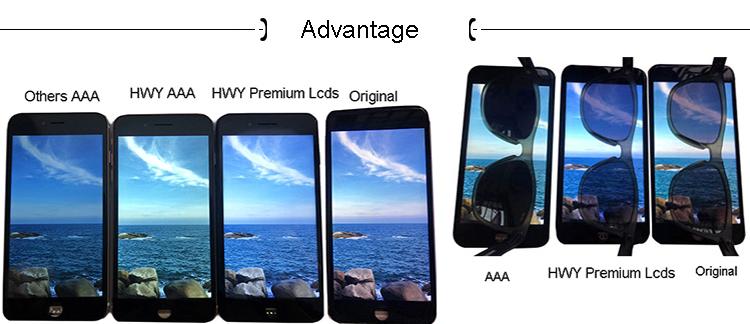 Preto digitador montagem original completo display lcd remodelado para o iphone x