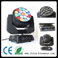 sales promotion Bee eye 4in119x15w LED zoom moving head light