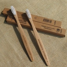 Eco-friendly Biodegradable Bamboo Charcoal Tooth Brush Manufacturer