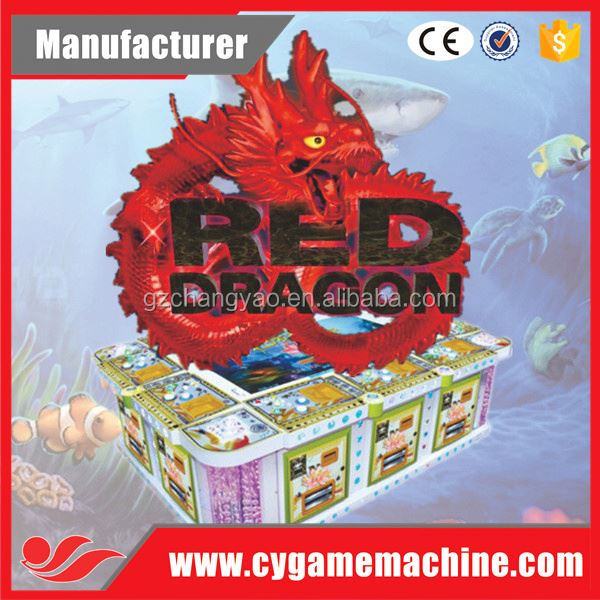 3D 6P Video Red Dragon Real Fishing Season Hunter Game