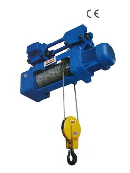 3 Phases Wire Rope Electric Hoist with Hook