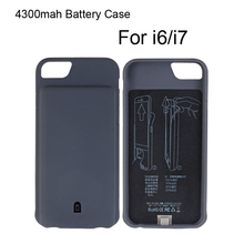 Wholesale New Design Mobile Phone 4300mah TPU Power Case for iphone 7 7plus