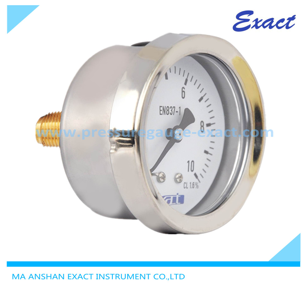 High Quality Rear Connect Wise Pressure Gauge Exact