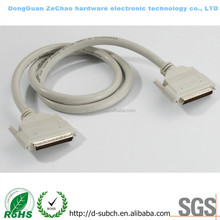 External High Quality (HD) DB 68 pin to High Density (HD) DB 68 Pin Connector SCSI Cables