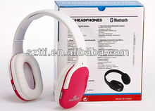 New model hot selling bth002 wireless stereo bluetooth handfree headset from shenzhen