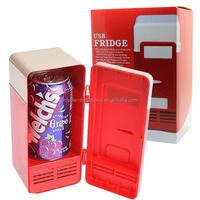 Dual credibility special USB USB cooling and heating a small refrigerator small refrigerator Direct USB mini fridge