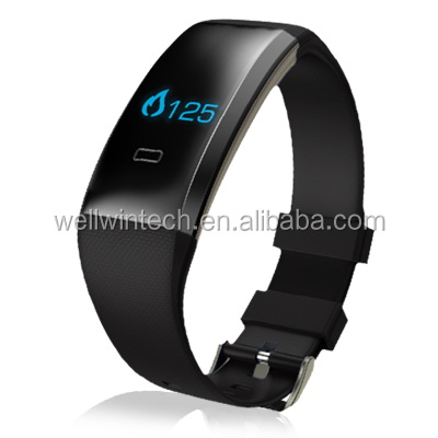 Health Fitness Tracker with Blood Pressure Sports Smart Wristband Pedometer Smart Bracelet Bluetooth Smart Watch
