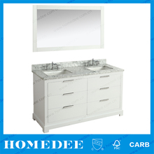 wooden bathroom vanity cabinet with dovetail drawers